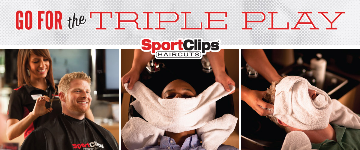 The Sport Clips Haircuts of Katy - Morton Center Triple Play